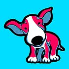 EBT Puppy Pink , White and Teal  by Sookiesooker