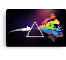 Pokemon Dark Side of The Moon Canvas Print