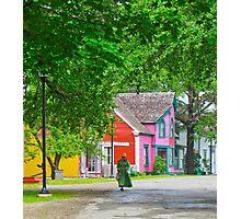 Sherbrooke Village Photographic Print