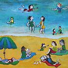 Life on the beach by KarenFoster