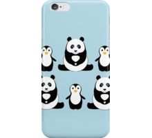 PANDAS & PENGUINS iPhone Case/Skin