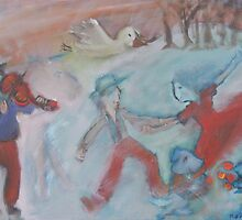 Ode to Chagall by KarenFoster
