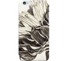 Profile of A Sunflower iPhone Case/Skin