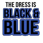 The Dress is Black and Blue by azzasg
