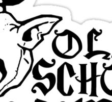 Old School Gamer Sticker