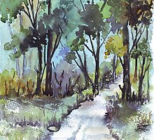 Another forest path by Maree  Clarkson
