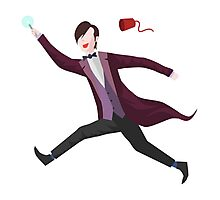 11th Doctor Vector Sticker Photographic Print