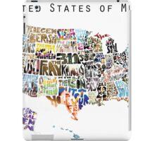 United States of Music iPad Case/Skin