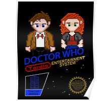 NINTENDO: NES DOCTOR WHO Poster