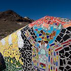 Mosaic beauty at Rhyolite by Denise Goldberg