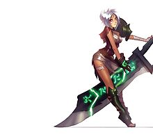 Riven, The Exile. by MindxCrush