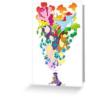 Friends Dreaming Colour Greeting Card
