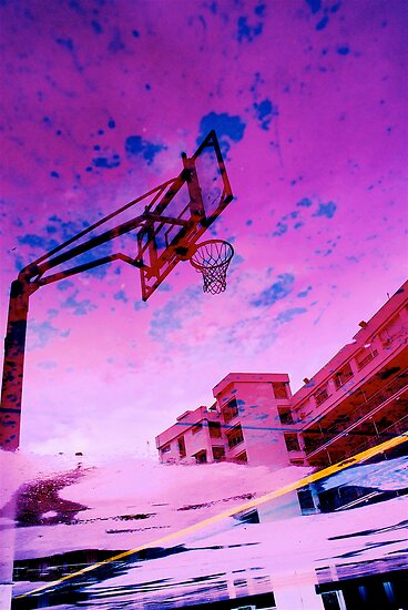 Acid Rose Water BBall by Mario  Scattoloni