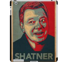 SHATNER iPad Case/Skin