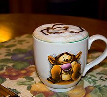 Coffee with Tigger! by ericseyes