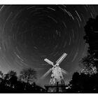 Star Trail - Upminster Windmill by Peter Barrett