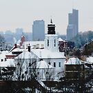 VIlnius in the winter by Antanas