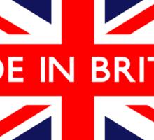 Made in Britain UK Flag Sticker