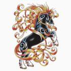 Celtic Horse by Lugh  Damen
