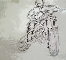 MOTORCYCLE 3 by Tammera