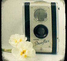 Floral Duaflex, vintage camera by gailgriggs