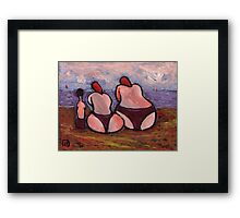 Me the wife and the mother in law Framed Print