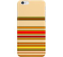 Cream and Toffee Ribbon iPhone Case/Skin
