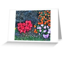 Reality Xmas Like Flowers Duvet Greeting Card