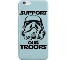 Support our Troops Star Wars iPhone Case/Skin
