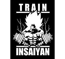 Train Insaiyan - Super Saiyan Goku  Photographic Print