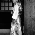 Girl in Kimono by Miko Coffey