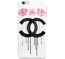 Floral Chanel iPhone Case/Skin