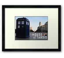 House of TARDIS Framed Print