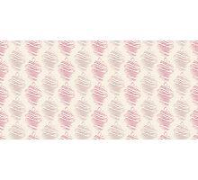 Luxury pink ornamental pattern Photographic Print