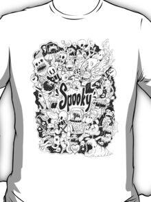 Spooky Doodleart T-Shirt