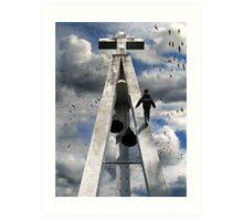 walk of faith Art Print