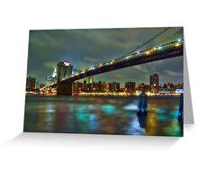 Brooklyn Bridge, NYC Greeting Card