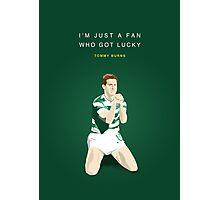 Tommy Burns - Mr Celtic Photographic Print