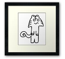 Mostly an American Cat Framed Print