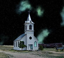 The Cosmic Church by EbelArt