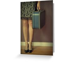 Never To Look Back Greeting Card