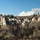 The Hoodoos at Kerr Dam, Panorama by Bryan D. Spellman