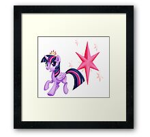 Princes Twilight Sparkle Framed Print