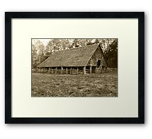Enloe-Floyd Barn Framed Print