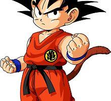 Kid Goku V4 by LouisCera