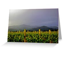 Storm over the  Richmond Ranges Greeting Card