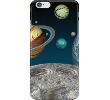 To The Moon And Beyond iPhone Case/Skin