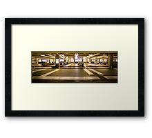 The Terminal Framed Print