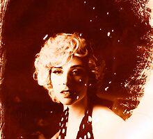 Devon Green as Marilyn by Mario  Scattoloni