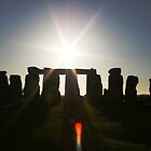 Stonehenge at Sunset by Tarryn Godfrey